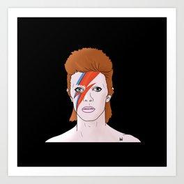 Ziggy Starman Art Print