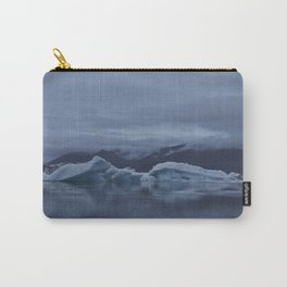 Icebergs at glaciar lagoon in Iceland Carry-All Pouch
