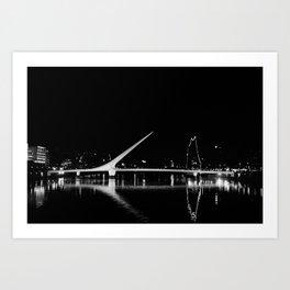 Puente de la Mujer Art Print