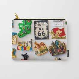 Fridge Magnet Wanderlust Carry-All Pouch