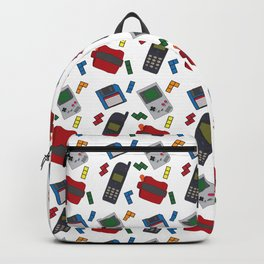 90s Print Backpack