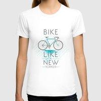 bike T-shirts featuring bike by Claudio Nozza Art