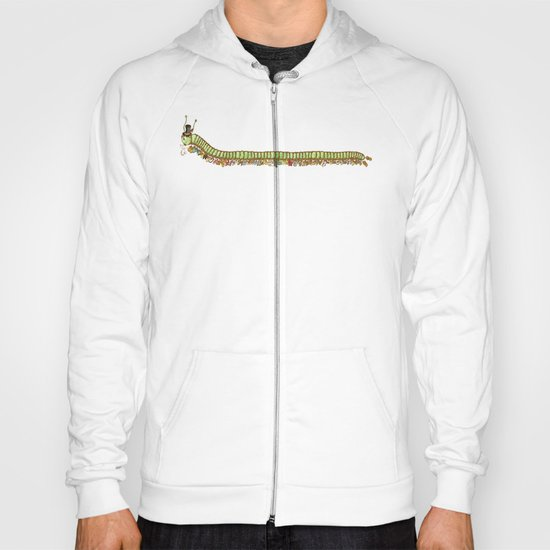 Caterpillar Shoe Fetish Hoody