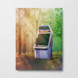 How did you end up there? Metal Print