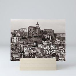 "Urban Landscape of Sicily ""VACANCY"" zine Mini Art Print"