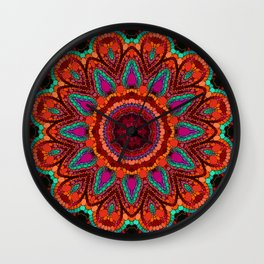 Kaleidoscope for moments of relaxation Wall Clock