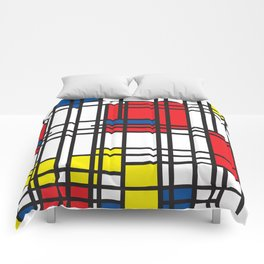 Primary Colors 5 Comforters