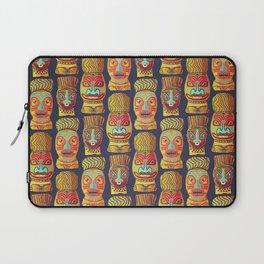 Tiki mask pattern Laptop Sleeve