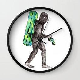 Bouldering Yeti Wall Clock