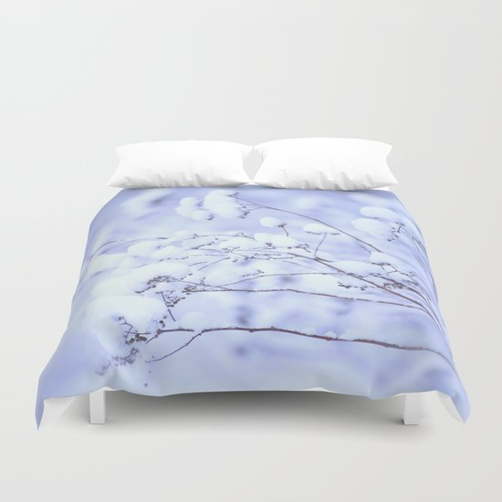 Snowy Softness  Duvet Cover