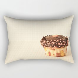 Cup Cake (Retro and Vintage Still Life Photography)  Rectangular Pillow
