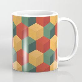 Retro Cubic Coffee Mug