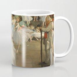 The Dance Class, Edgar Degas  Coffee Mug