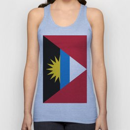 Flag Of Antigua and Barbuda Unisex Tank Top