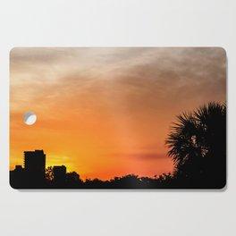 Sunset in Panama City Cutting Board