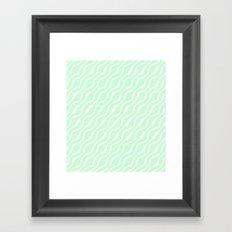 Mint Framed Art Print