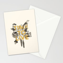 Time to live Stationery Cards