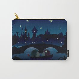 Hedgehogs in the night Carry-All Pouch