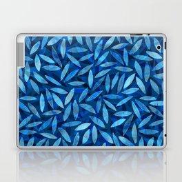 Indigo Botanical Pattern Laptop & iPad Skin