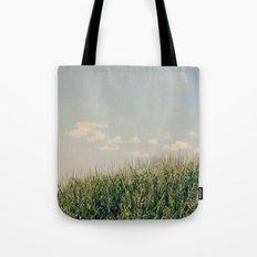 Campos de maíz Tote Bag