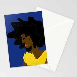 The Lady in Gold Stationery Cards