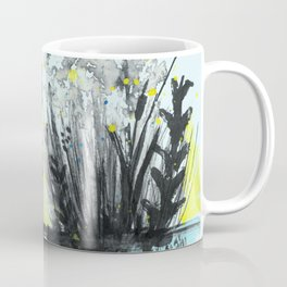 Cattails in the grass Coffee Mug