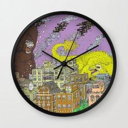 King Kong Color Wall Clock