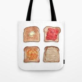 Breakfast & Brunch: Toasts Tote Bag
