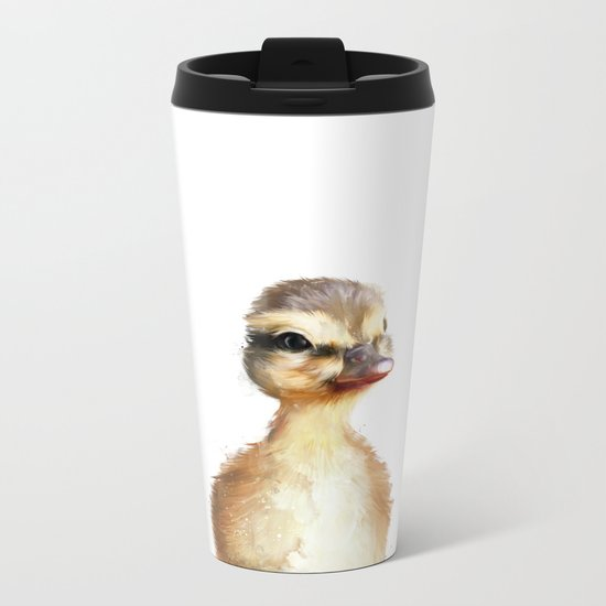 Little Duck Metal Travel Mug