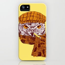 The Northern Owl iPhone Case