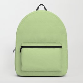 Modern stylish mint green solid color Backpack