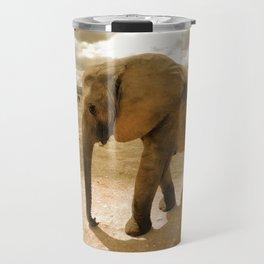 Wildlife big Elephant Travel Mug