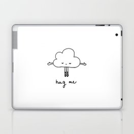 Cute cloud hug me Laptop & iPad Skin