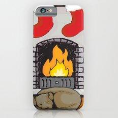 Canine Christmas (Fireside) iPhone 6s Slim Case