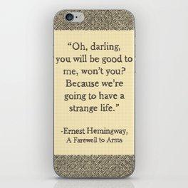 Oh, Darling iPhone Skin