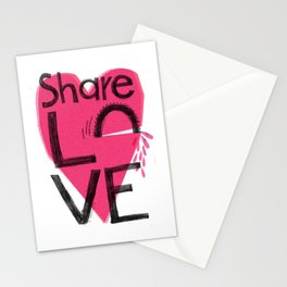 Share love Stationery Cards