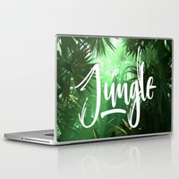 jungle Laptop & iPad Skins featuring Jungle by Insait