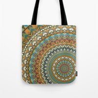 the 100 Tote Bags featuring Mandala 100 by Patterns of Life