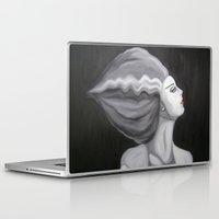 bride Laptop & iPad Skins featuring Bride by October James