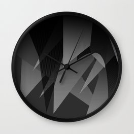 A Busy Mind Wall Clock