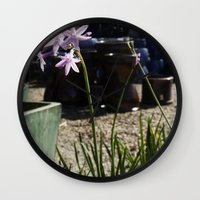 easter Wall Clocks featuring Easter by Julie Camino Photography
