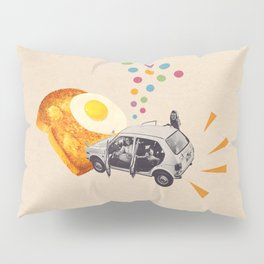 Don't Forget Breakfast! Pillow Sham