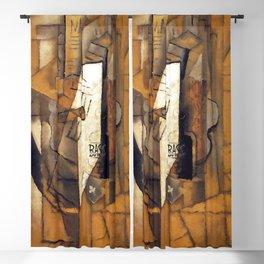 Pablo Picasso Bass Bottle Blackout Curtain