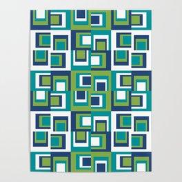 Pantone Greenery Uneven Poster