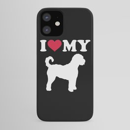 I love my Goldendoodle iPhone Case