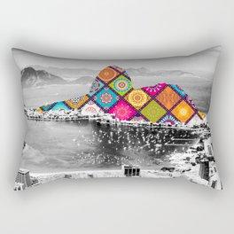 Funky Landmark - Rio Rectangular Pillow