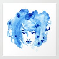 Aquarelle Beauty 2 Art Print