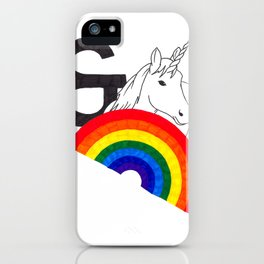 Rainbows & Unicorns iPhone Case