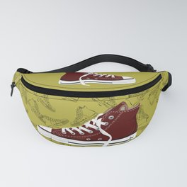 Respect My Kicks! Fanny Pack