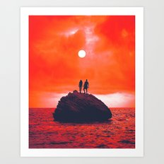 Sunn Art Print